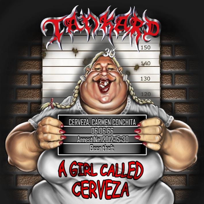 Tankard - A Girl Called Cerveza - Artwork