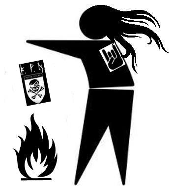 Logo of an Anti Peste Noire site